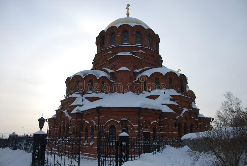 La cattedrale di Alexander Nevsky immagine stock
