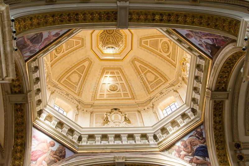La cattedrale di Cagliari fotografia stock