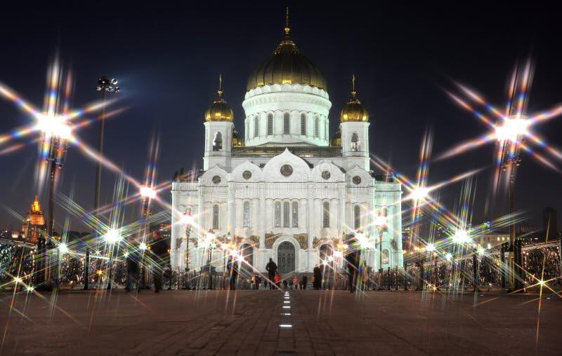 La cattedrale di Christ il salvatore immagini stock libere da diritti