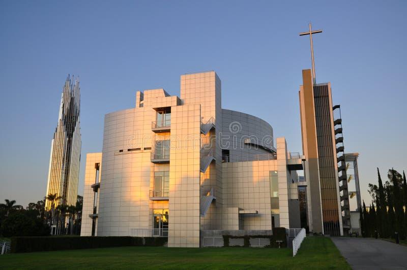 La cattedrale di cristallo fotografie stock