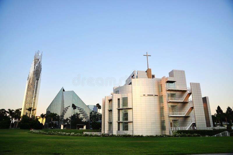 La cattedrale di cristallo immagine stock