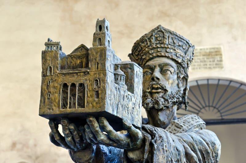 La cattedrale di Monreale immagini stock libere da diritti