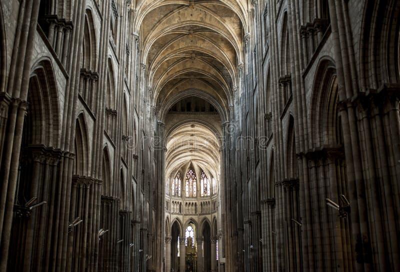 La Cattedrale di Notre-Dame Rouen, Normandia Francja zdjęcia stock