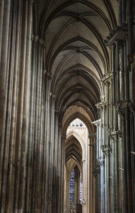 La Cattedrale di Notre-Dame Rouen, Normandia Francja zdjęcia royalty free