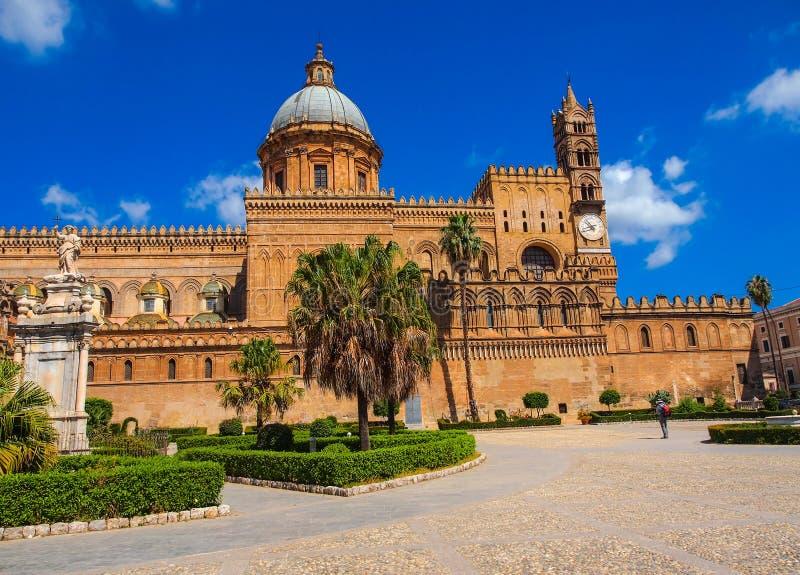 La cattedrale di Palermo fotografia stock