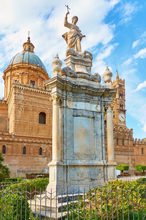 La cattedrale di Palermo immagini stock libere da diritti