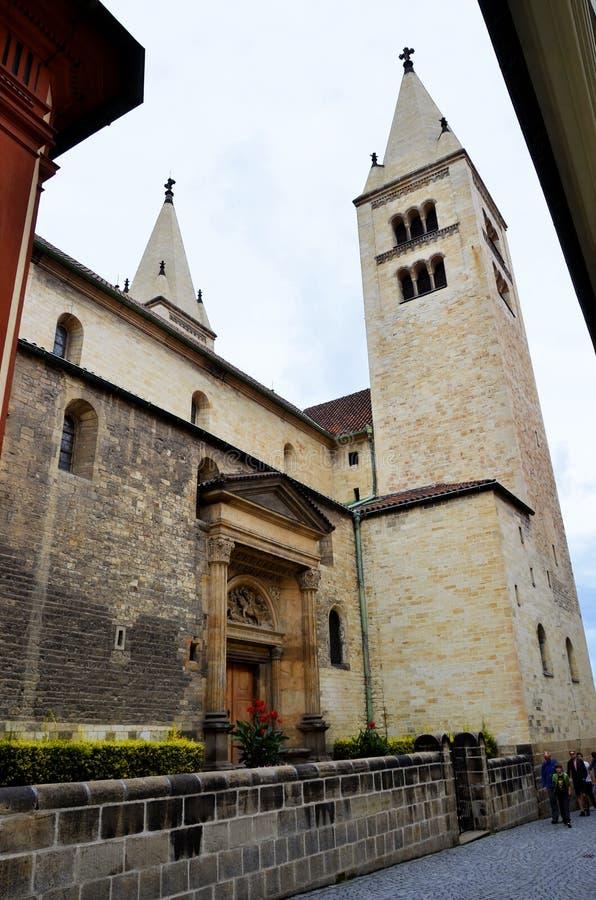 La cattedrale di Praga fotografia stock libera da diritti