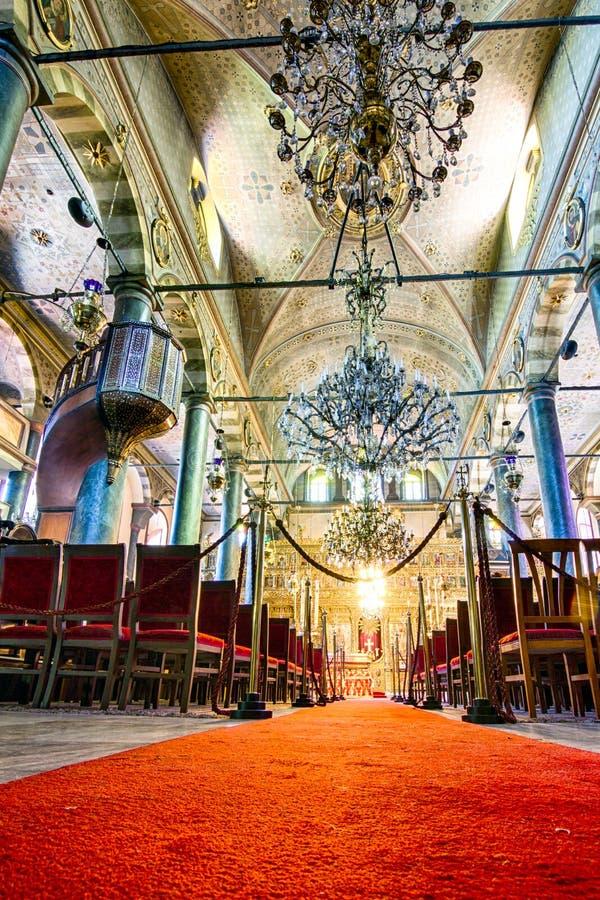La cattedrale di St George, Costantinopoli, Turchia fotografia stock