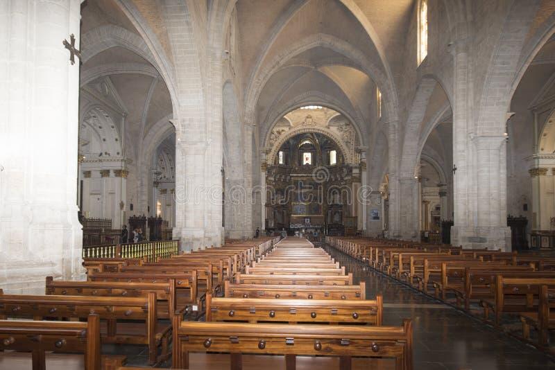 La cattedrale di St Mary, Valencia immagine stock