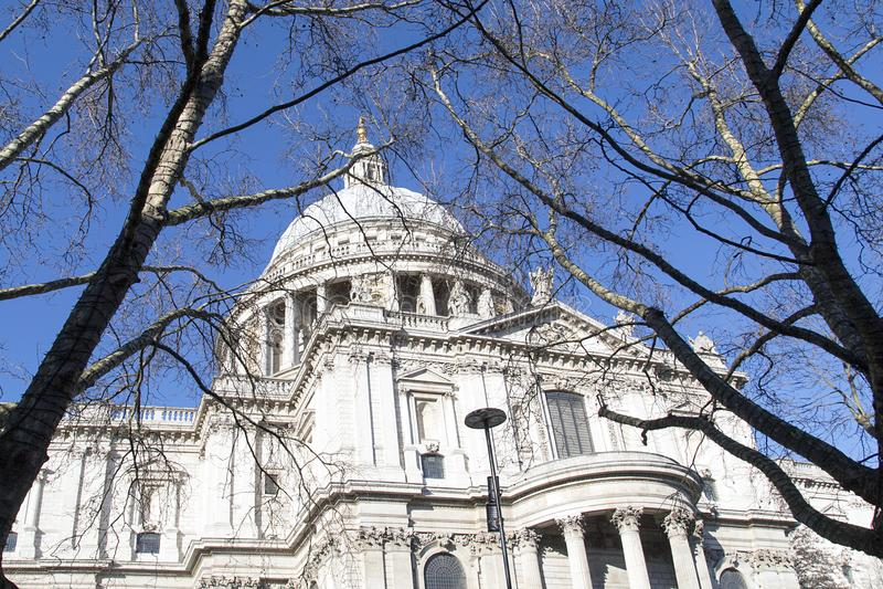 La cattedrale di St Paul fotografie stock