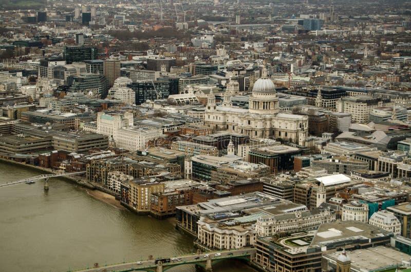 La Cattedrale E La Città Di St Paul Di Londra Immagine Stock