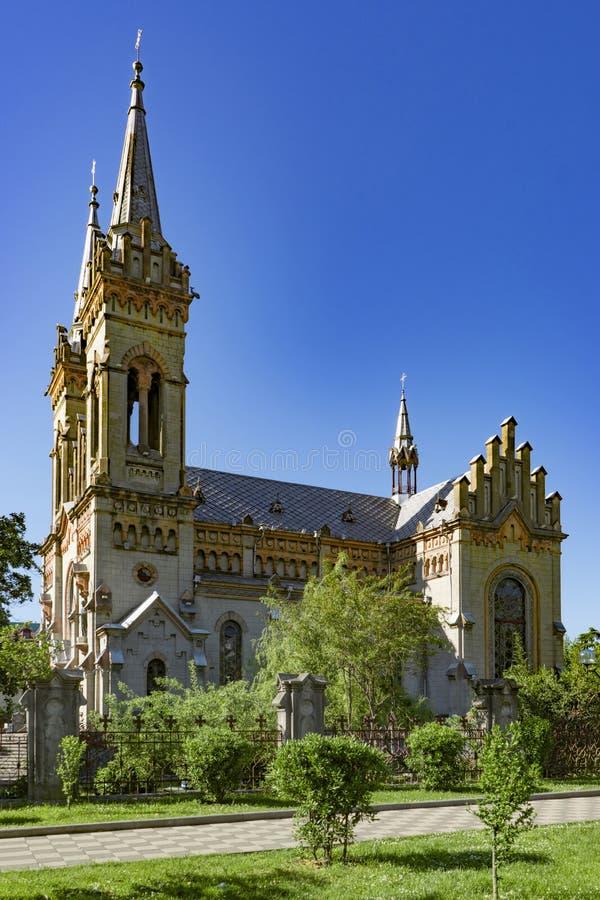 La cattedrale santa della madre, Batumi, la Georgia, può 2017 fotografia stock libera da diritti