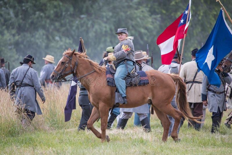 La cavalerie soutiennent photo libre de droits