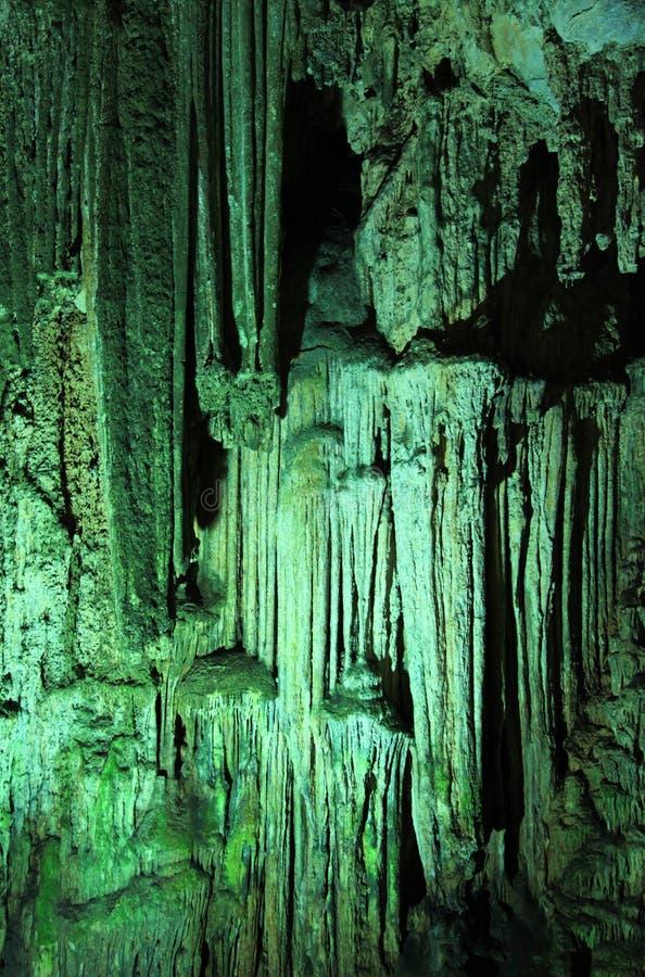 La caverne de Melidoni, Crète image libre de droits