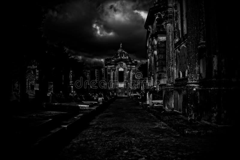 La caza del fantasma foto de archivo