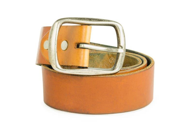 La ceinture brune photos libres de droits