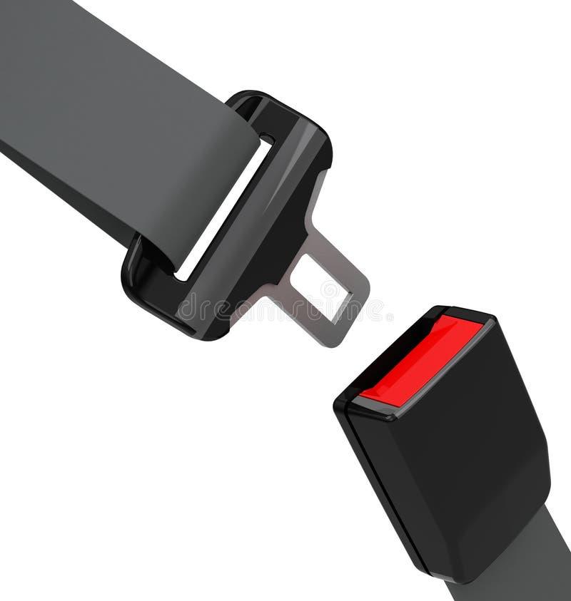 La ceinture de sécurité illustration libre de droits