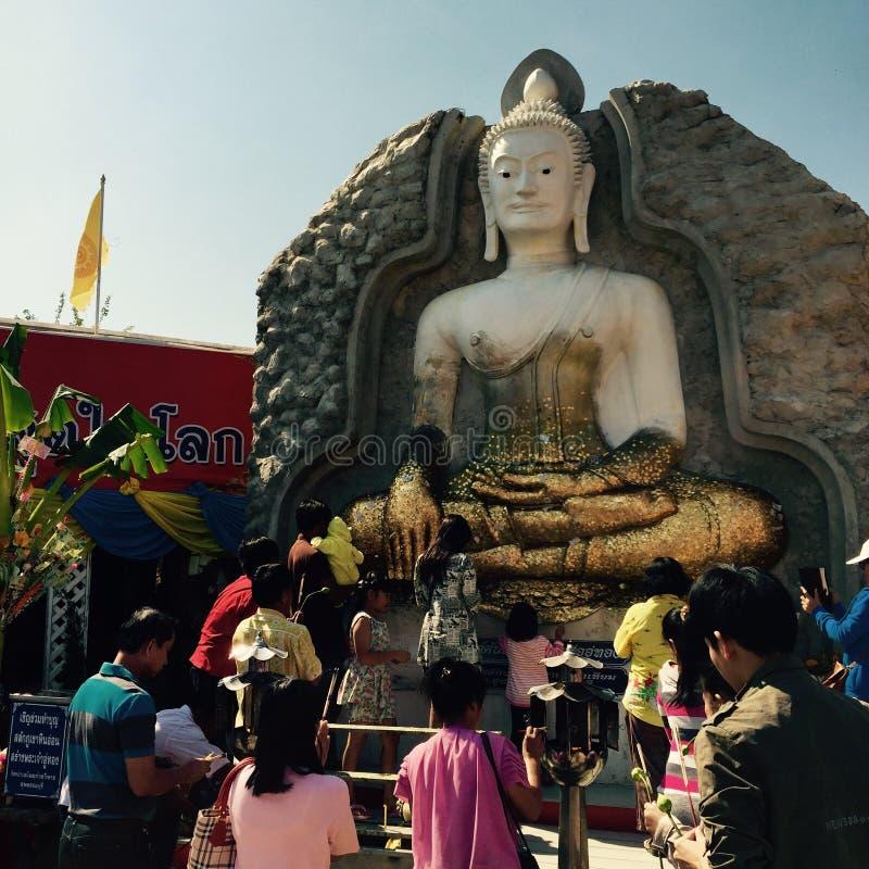 La celebración de Buddhistism en Año Nuevo imagen de archivo libre de regalías