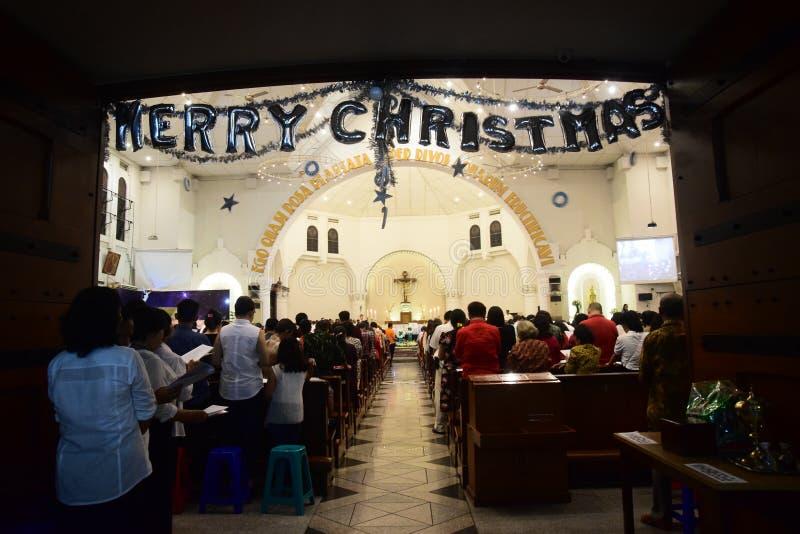 La celebrazione del Natale Massachussets fotografia stock libera da diritti