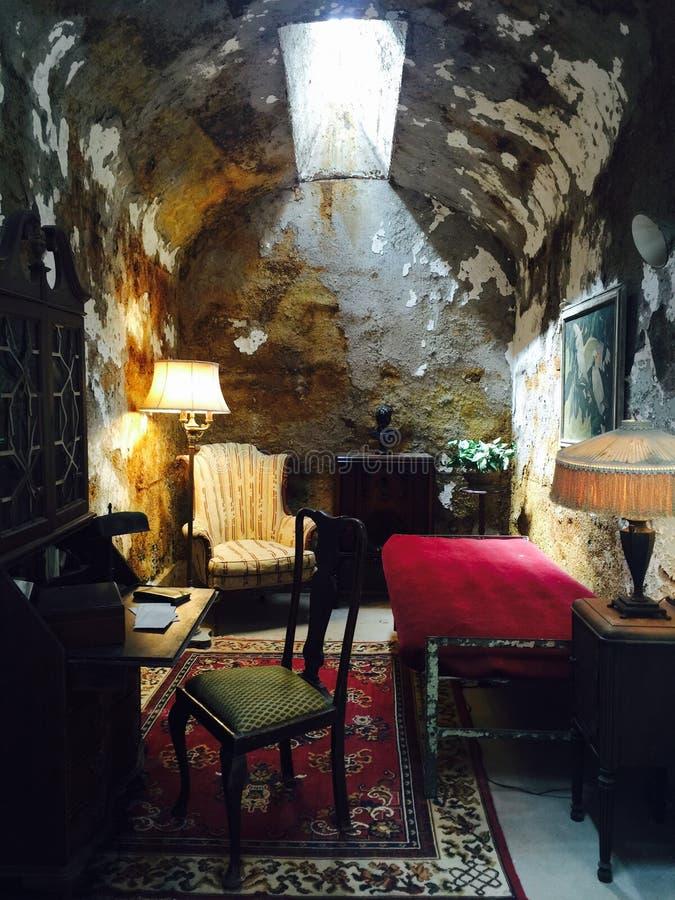 La cellule d'Al Capone image stock