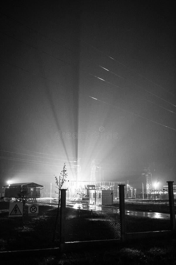 La central eléctrica fotografía de archivo libre de regalías