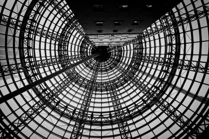 La central icónica de Melbourne foto de archivo libre de regalías