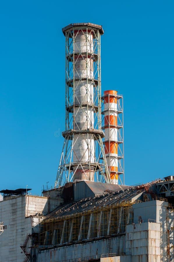 La central nuclear de Chernobyl imagen de archivo