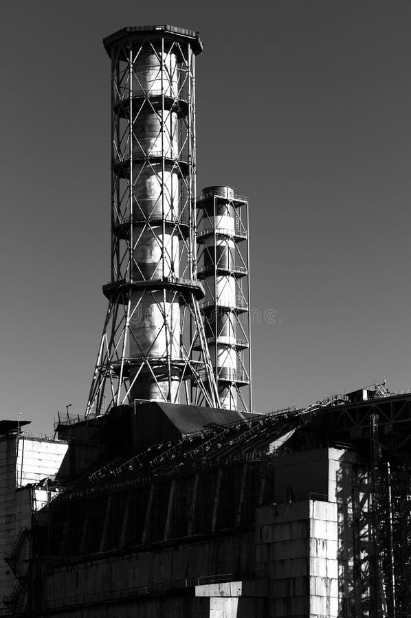 La central nuclear de Chernobyl imagenes de archivo
