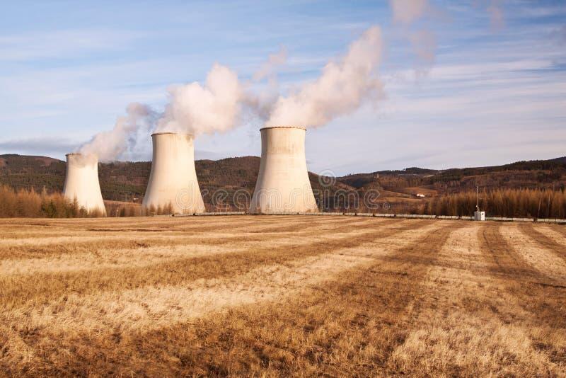 La centrale électrique Prunerov image stock
