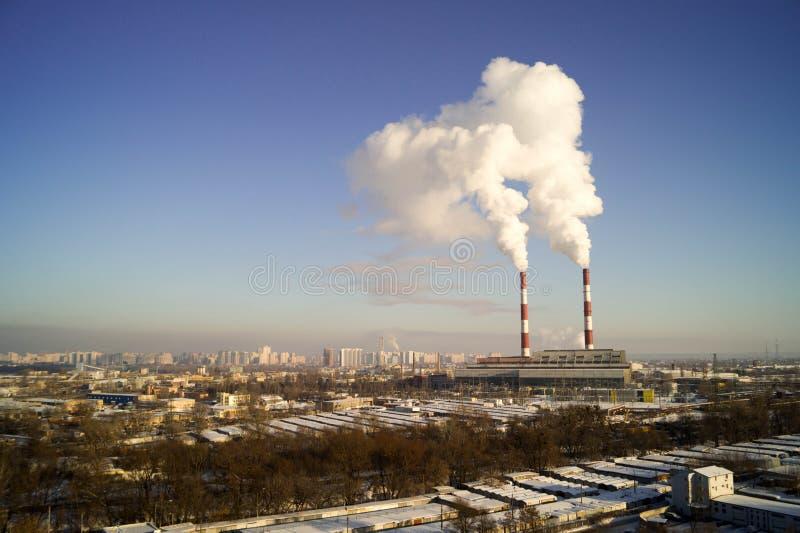 La centrale elettrica immagine stock libera da diritti