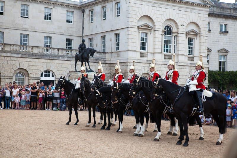 La ceremonia de entrega de Buckingham fotos de archivo