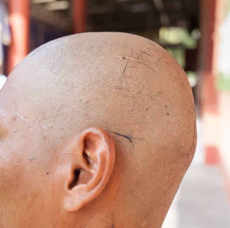 La cerimonia di classificazione di un monaco fotografia stock