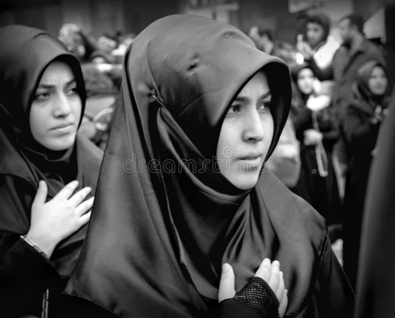 La cerimonia di dolore globale di Ashura Kerbala martirizza Commemor fotografia stock libera da diritti