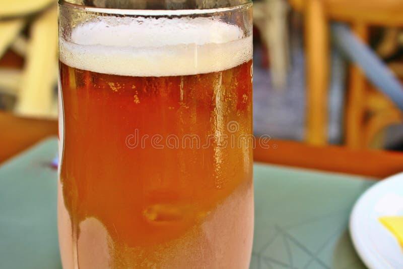La cerveza fría imagen de archivo