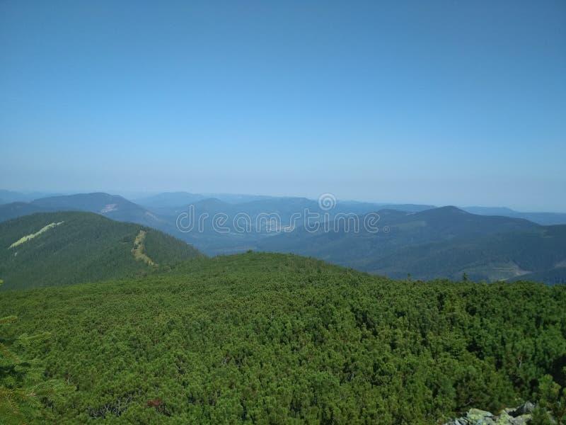 La chaîne de montagne d'Arshitsa images stock