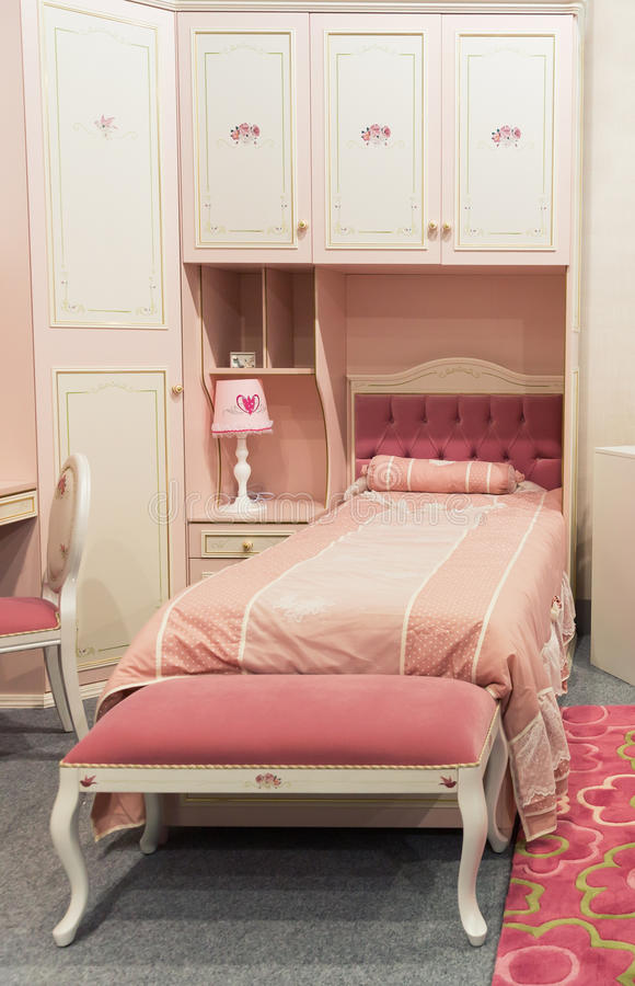 La Chambre à Coucher Du Bébé Dans Des Couleurs En Pastel Photo ...
