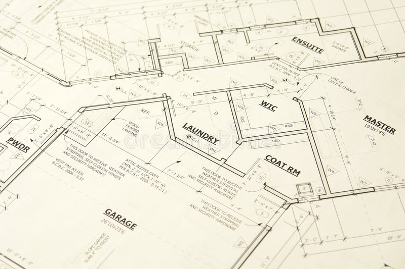 La Chambre Blueprints des plans