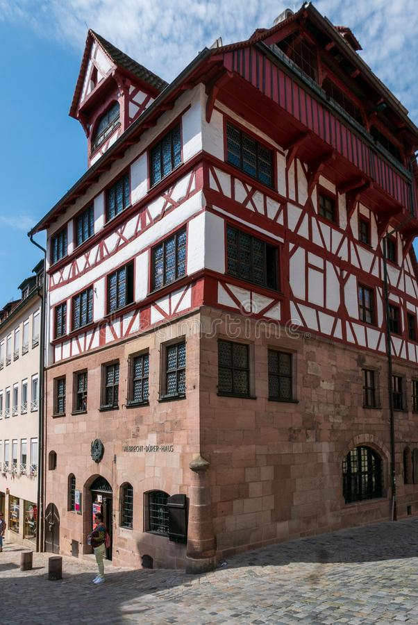 La Chambre d'Albrecht Durer image stock