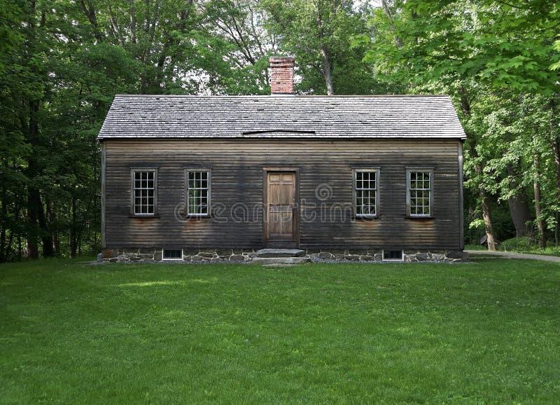 La Chambre de Robbins en parc historique national d'homme de minute près d'accord, le Massachusetts photo stock