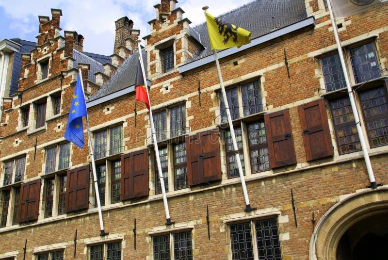 La Chambre de Ruben - Anvers photos libres de droits