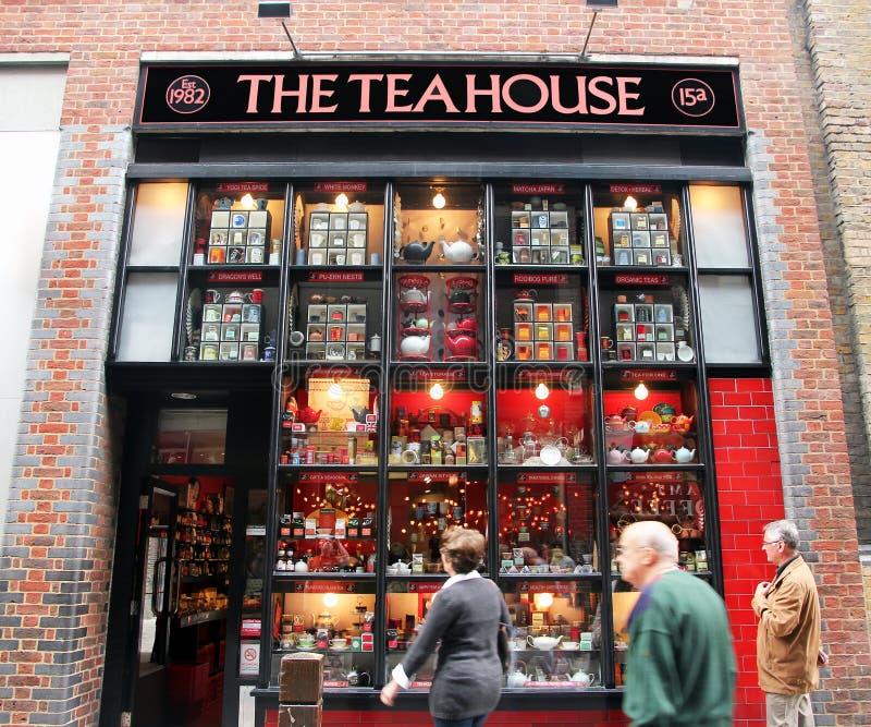 La Chambre de thé photos stock