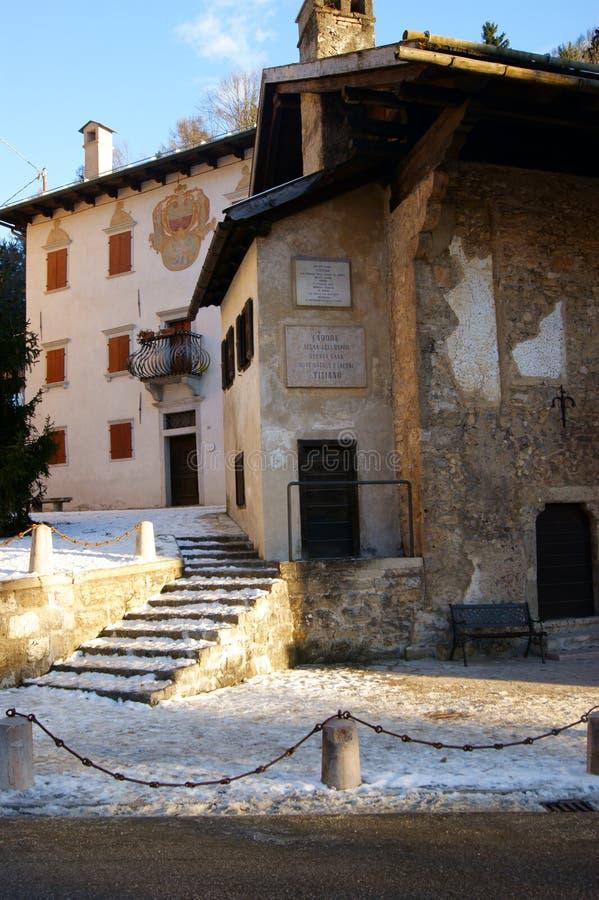 La Chambre de Tiziano images libres de droits