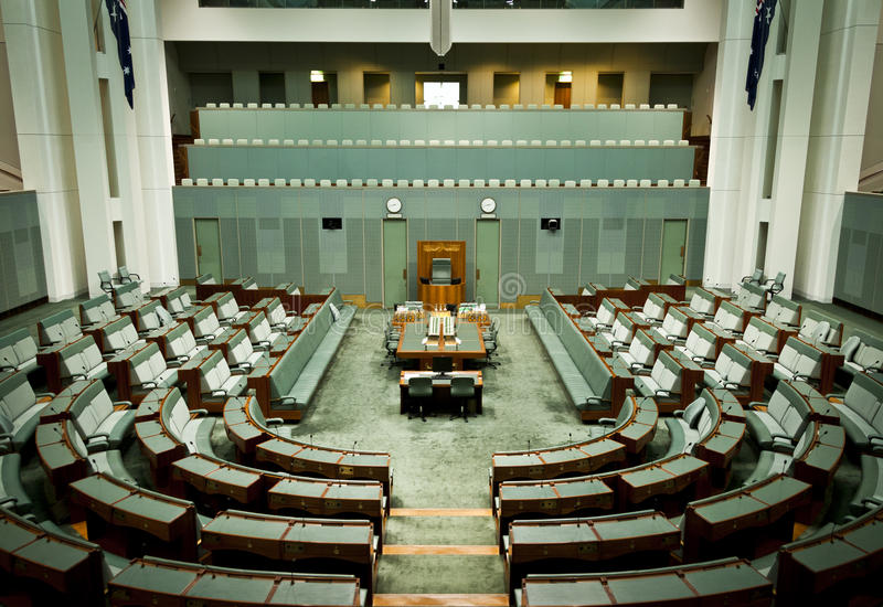 Chambre des représentants images libres de droits