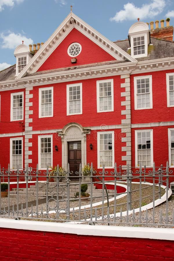 La Chambre rouge Youghal l'irlande photo stock