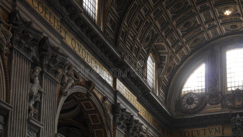 La chapelle de Sistine, Vatican photographie stock libre de droits