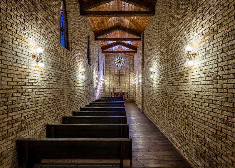 La chapelle de voyageurs image stock