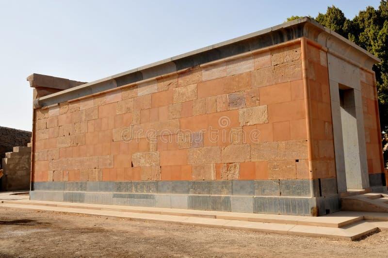 La chapelle rouge de Hatshepsut photos libres de droits