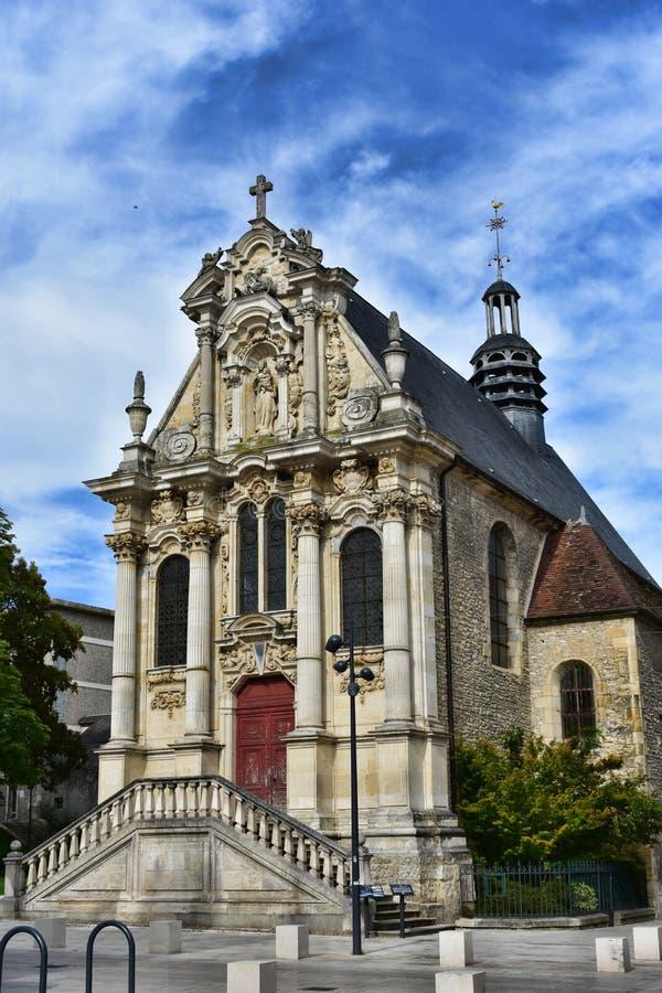 La Chapelle Sainte-Marie - Nevers - Francia imagen de archivo libre de regalías