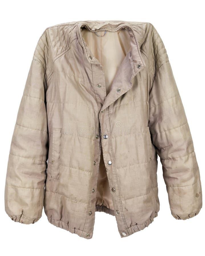 La chaqueta del hombre de nylon imagen de archivo