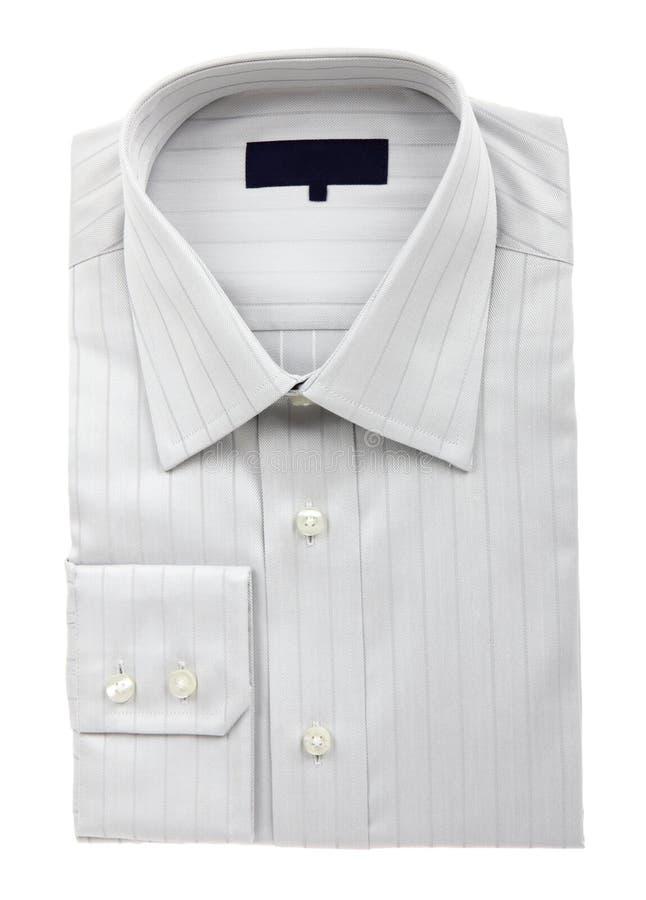 La chemise de l'homme gris neuf photographie stock